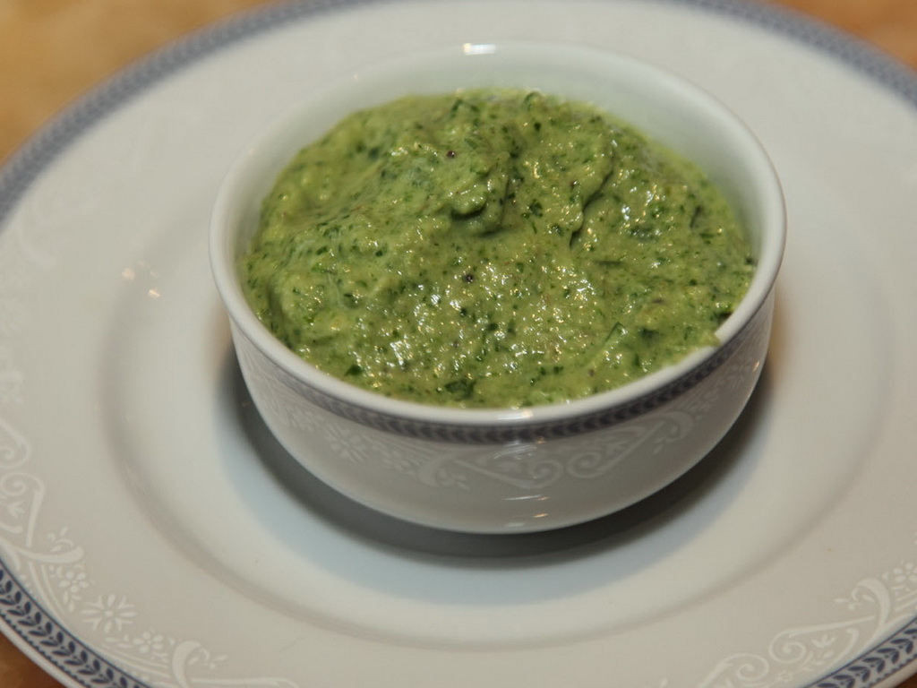 Соус зеленый итальянский