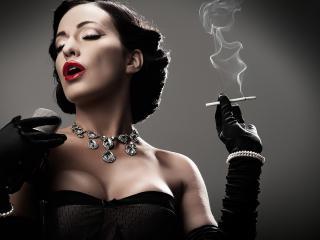 Женщина и сигарета